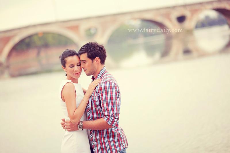 Fairy Daily, Elena Tihonovs, photos en amoureux Toulouse