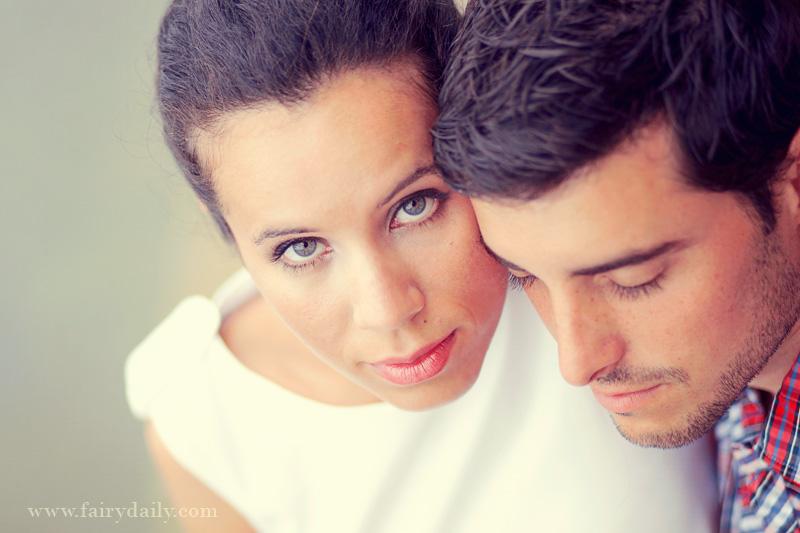 Fairy Daily, Elena Tihonovs, photographe couple d'amoureux sur les bords du Garonne