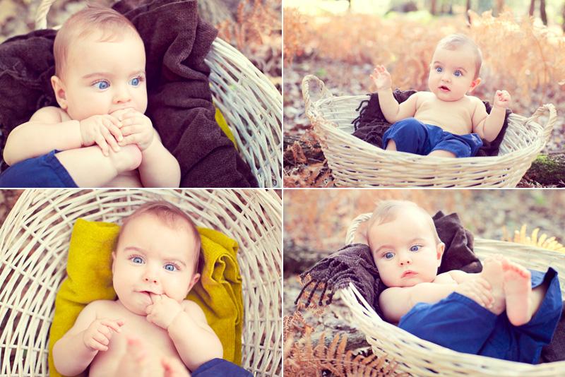 FairyDaily, bebe dans le panier