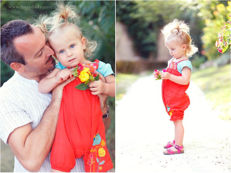 fairydaily, papa avec ses deux filles