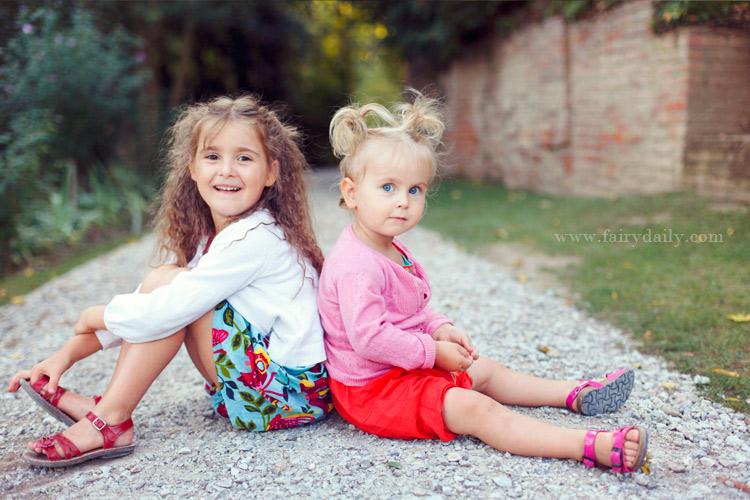 fairy daily, photographe enfants, deux soeurs