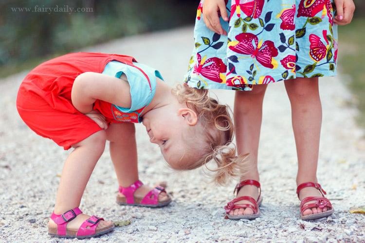 fairydaily, photographe castres, les pieds de petites filles