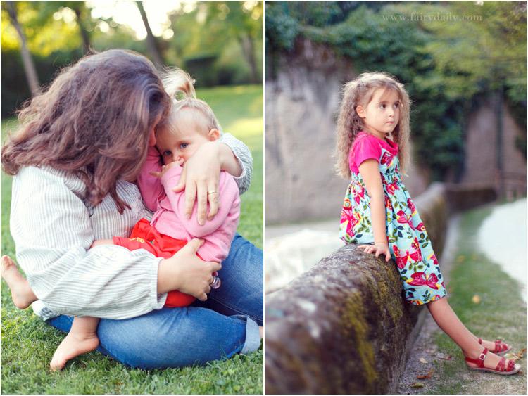 fairy daily, photo de maman avec ses filles