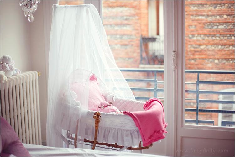 fairy daily, berceau de bebe fille