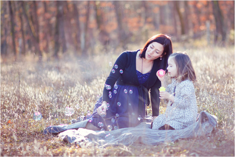 Fairy Daily, photographe famille, enceinte et sa fille