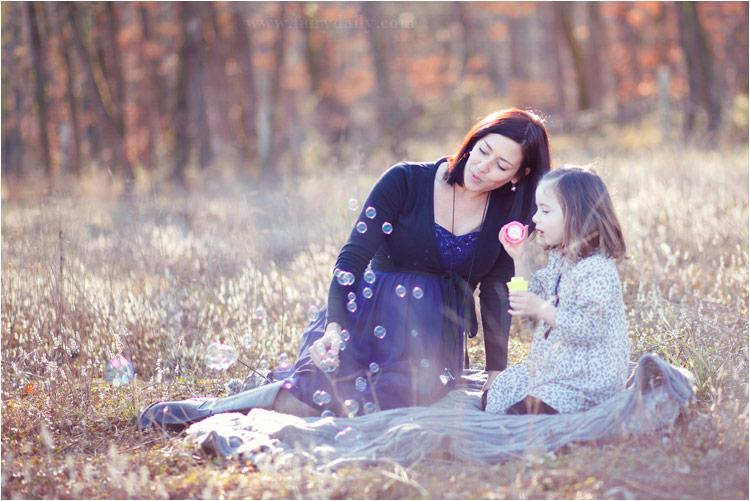 Fairy Daily, photographe famille, enceinte et sa fille