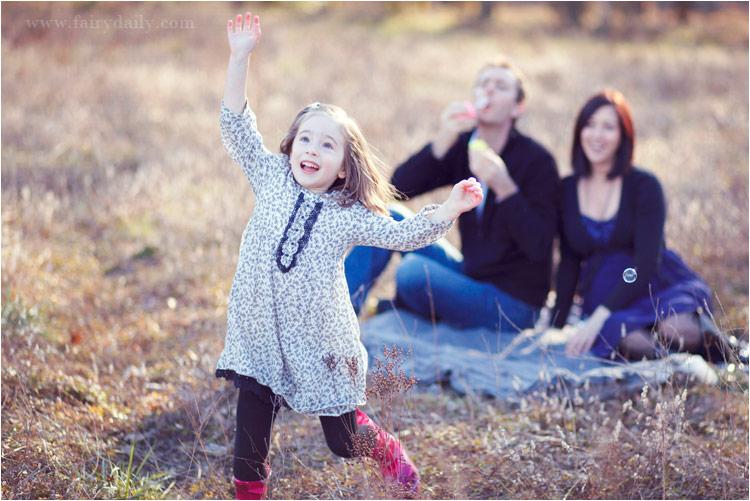Fairy Daily, photographe famille tarn, la famille avec la fille