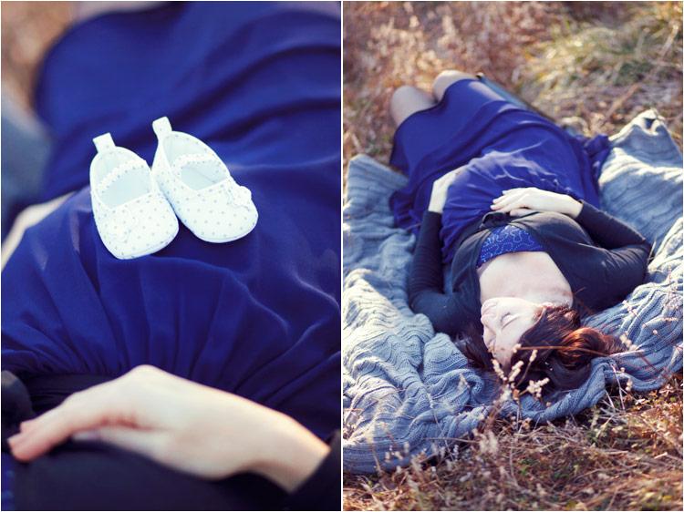 photographies poetiques grossesse en exterieur à toulouse par fairy daily