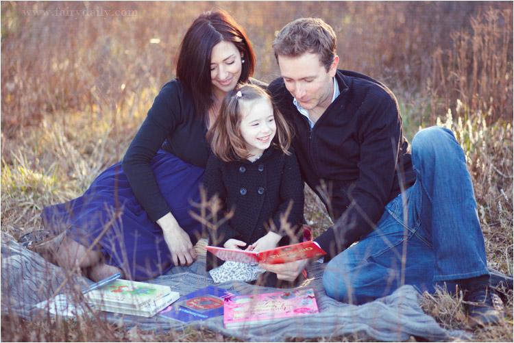 photos d'une jolie famille en exterieur par fairy daily