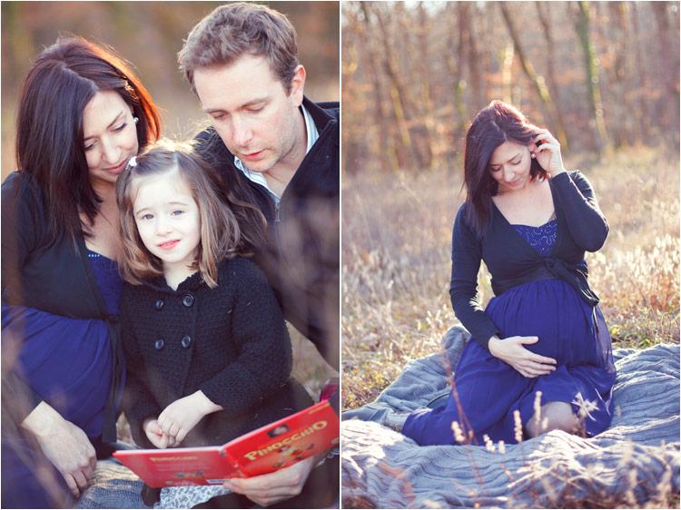 seance photo famille en exterieur par fairy daily, grossesse, maternite, photos avec les livres