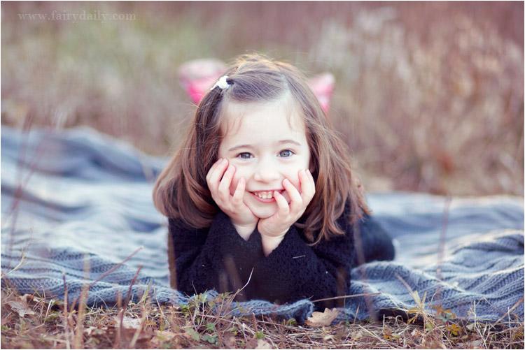 seance photo pour petite fille à Toulouse par FairyDaily, 4 ans