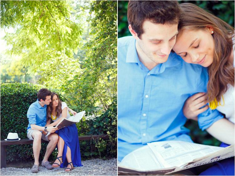 fairydaily, photos d'engagement, couple, lire le monde, complicité et amour