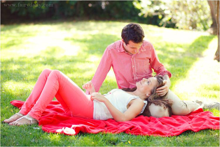 fairydaily, avant mariage, seance d'engagement, style champêtre