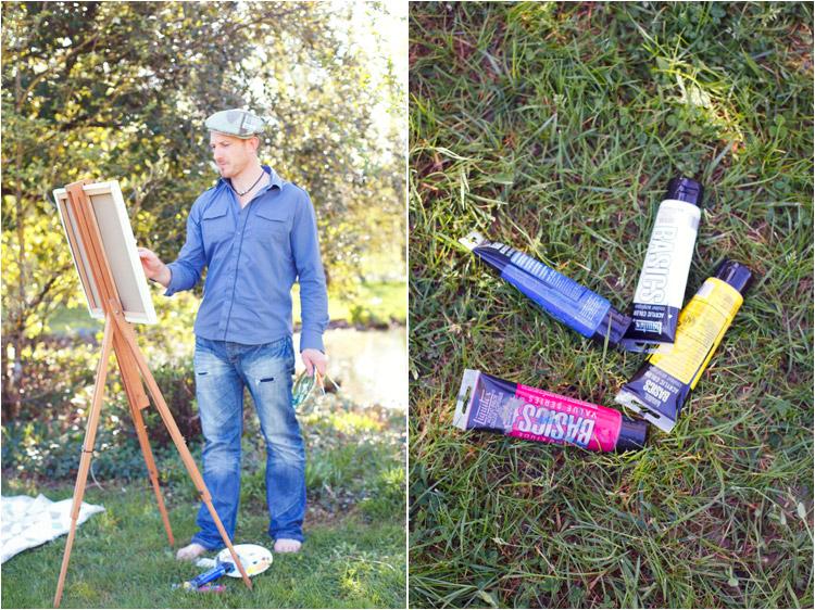 FairyDaily - peintre, dessiner, jardin de martels