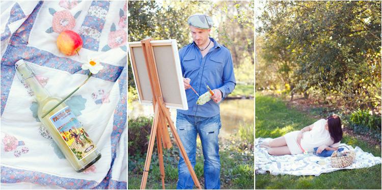 Elena Tihonovs, FairyDaily, jolie future maman, séance grossesse dans le parc