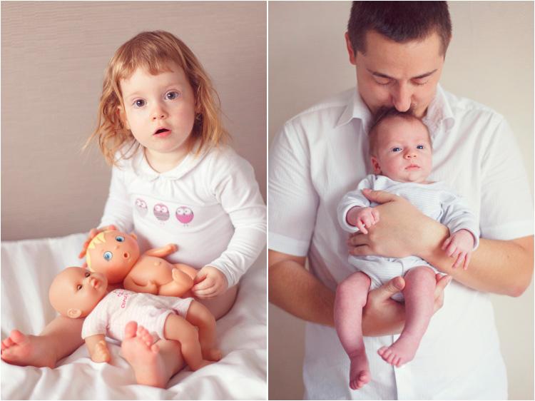 Elena Tihonovs, nouveau ne dans les bras de son papa