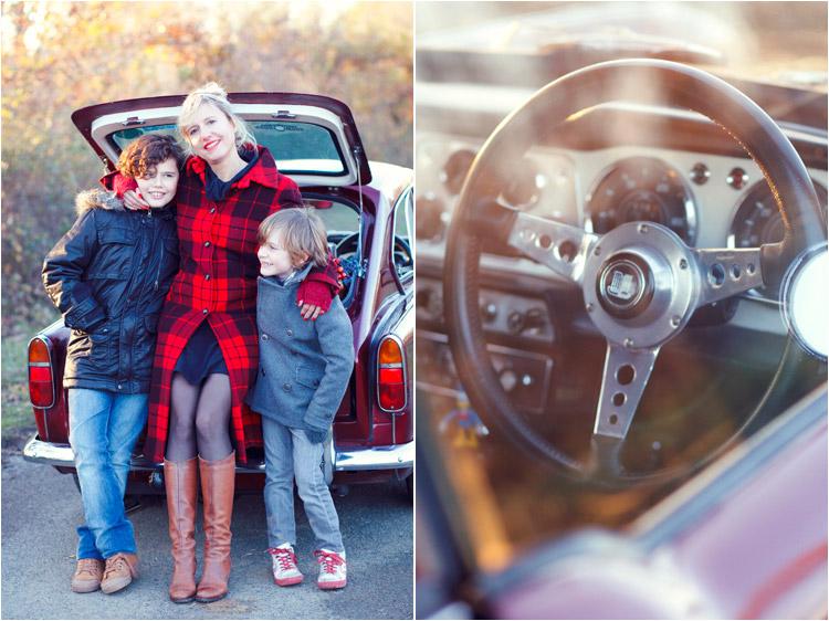 FairyDaily, Elena Tihonovs, photographe, famille, maman avec deux fils, voiture vintage