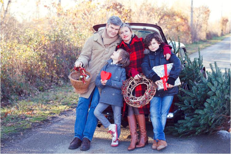 FairyDaily, Elena Tihonovs, photographe, famille, hiver, noel, voiture vintage, deux frères