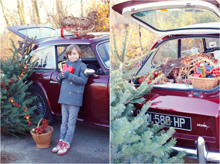 FairyDaily, Elena Tihonovs, photographe, garcon, cœur en carton rouge, triump, panier noel