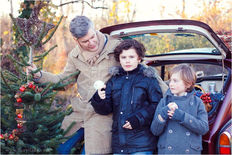 FairyDaily, Elena Tihonovs, père avec ses deux fils