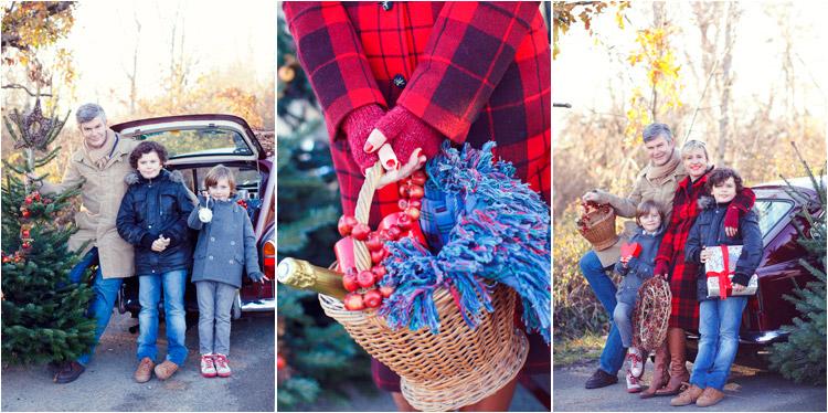 FairyDaily, Elena Tihonovs, photos du famille sur le thème de noel, sapin et decoration de noel