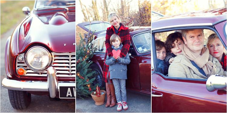 FairyDaily, Elena Tihonovs, triumph vintage, maman avec son garcon, theme noel