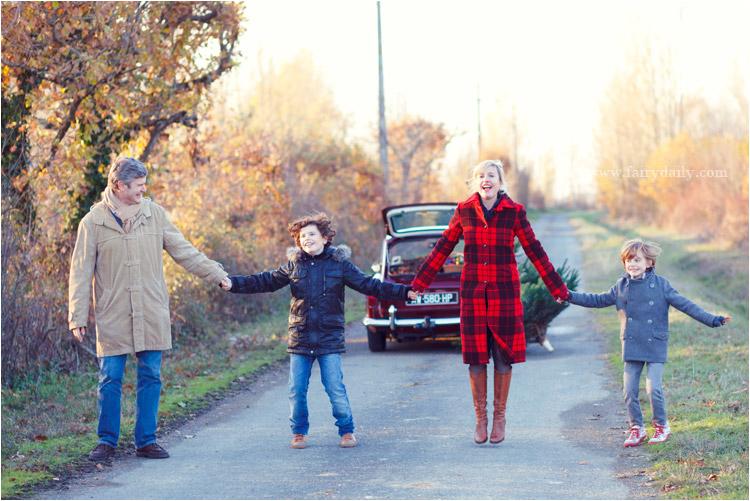 FairyDaily, Elena Tihonovs, photographe, famille, hiver, soleil, vintage