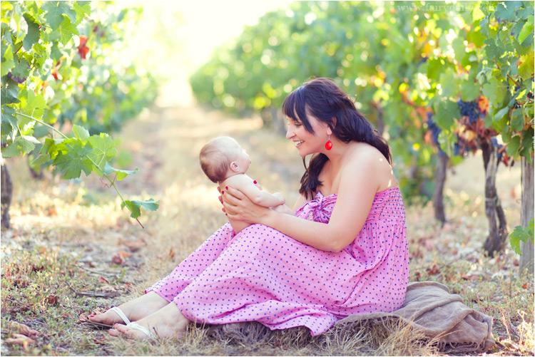 seance photo maman avec bébé