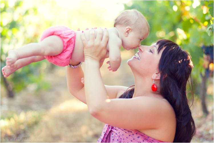 fairydaily photographe bébé en exterieur