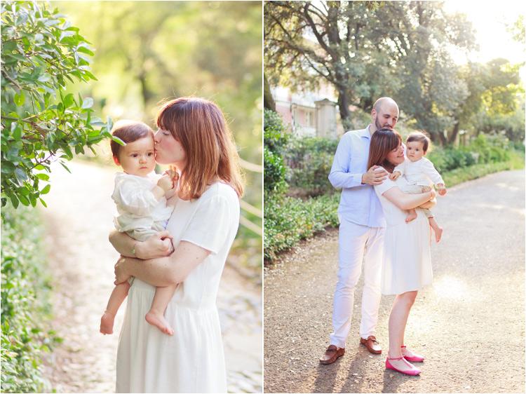 photos de bébé au Jardin des Plantes