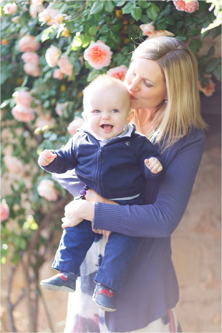 photos romantique d'une maman avec son bébé